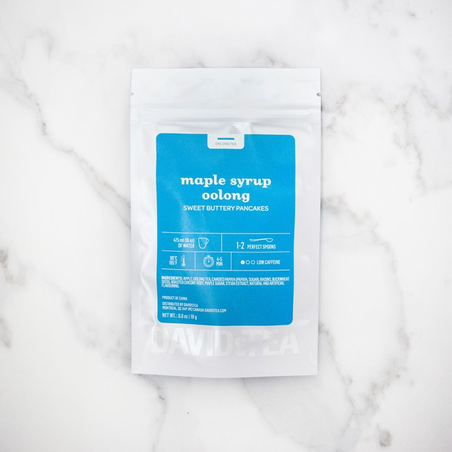 DAVIDsTEA's Maple Syrup Oolong